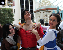 Gaston The Manliest by lawrencebrenner