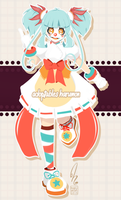 Adoptable :: Clown Girl :: OPEN by AdoptablesHarumon