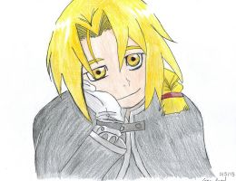 Edward Elric by Cross-Angel-Chan