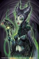 Maleficent by telegrafixs