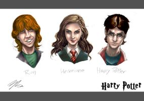 harry potter sketch by BrunoCotic
