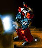 Perceptor Workin Hard by dcjosh