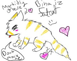 Morbidly Obese Binny D: by SkittlezArts