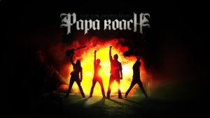 Papa Roach HD Wallpaper by mekk33