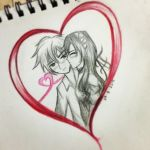 Usui and Misaki - Original Fan Art by AmiChocolat