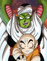 Kuririn vs Piccolo 2 by Mastens