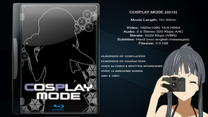 Cosplay Mode.. Release! Streaming + Download Link by moogle212