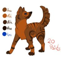 Point adoptable -SOLD- by Deestracted