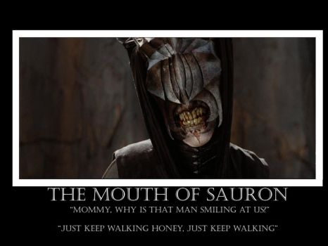 Mouth of Sauron demotional by SaberVow999