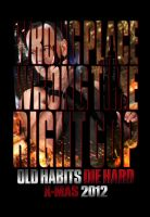 """""""Die Hard 5"""" Teaser Poster by themadbutcher"""