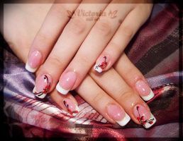 Nail art 193 (Gel nails) by ChocolateBlood