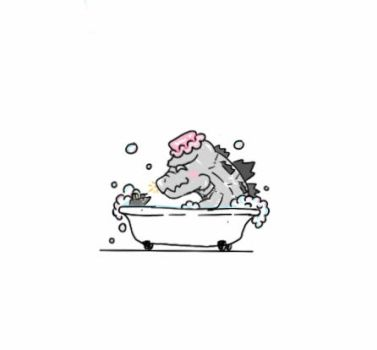 Take bath  :p by dinosaurbook