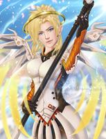 Young Mercy - OVERWATCH - NSFW optional by FKDemetri