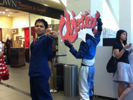 C2age 2nd day (Phoenix Wright 18) by Fitorisan