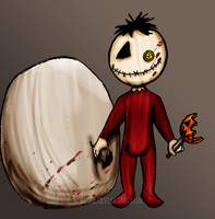 TrT: Sam loves Halloween by Tifa-the-Strange
