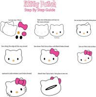 Hello Kitty Patch Pin guide by Mokulen22