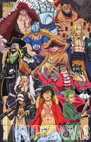 One Piece- The 11 Supernovas by TheDreamVirus