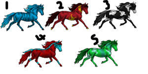 Equine Pixel Adopts {Open} by Shadowed-Adoptables