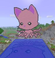 Minecraft: Tentacle Kitty by TentacleKitty
