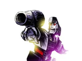 Megatron Week Day 7 by ryuzo