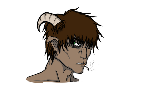 This random satyr... by KeeperOfTheRift