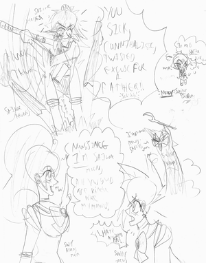 Sailor Godz Doodles--WTF