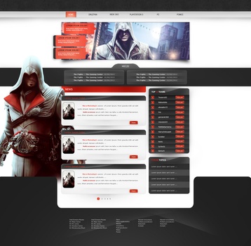 Assasin's Creed - Website league by ronek22