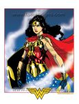 Wonder Woman CCC Print Color by Hodges-Art