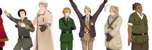 Hetalia MMD: Everybody by Talawolf2014