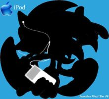 Sonic iPod by SonicGod