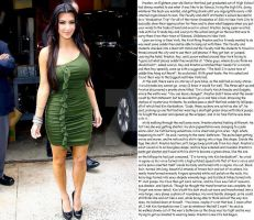 Kim Kardashian TG by DarkQueenEmpress