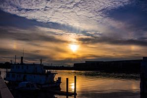 Port at Sunset 2 by insomniac199