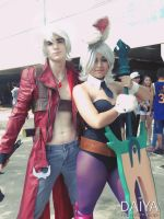Dante and Riven by StarlightWarior
