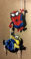 Spider-Minion Saves The Day by Wolfish-Dreams