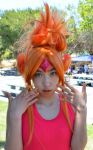 Flame Princess Cosplay by dragonaeve