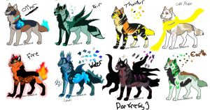 Elemental wolfs One CLOSED by DEAFHPN