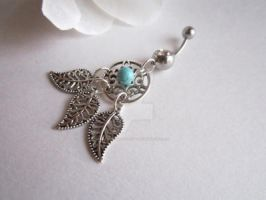 Dreamcatcher Belly Button Ring by MammaShaClothing