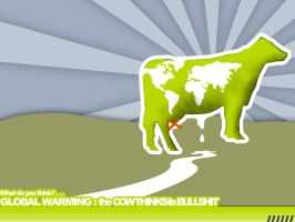 The Global Warming Cow by receter