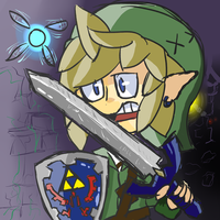 The legend of Zelda Link by Spoon (sketchy) by NutellaSpoon