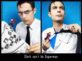 Clark can't be Superman 3 by Marciedip