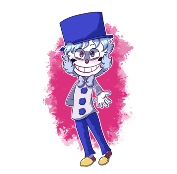Crazy Cheeb Sticker by TheArtificialGinger