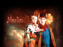 Merlin Arthur Wallpaper by Elfa-dei-boschi