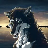 Lobothewolf icon.comm2 by WolfRoad