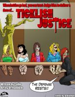 Ticklish Justice #2 Cover by MTJpub
