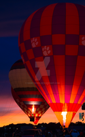 Hot Air Ballon Rally @ 2015 Dogwood Festival by Namcoking