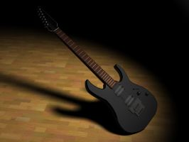 Finished Ibanez Guitar by DAVEAC1117