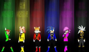 Sonic Gokaiger for Pikatwig by rangeranime