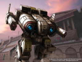MechWarrior Mercs Wallpaper by Mecha-Zone