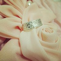 Spring Blossoms Ring by SunreiCreations