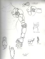 Robotic Arm Concept by warman707